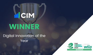 CIM Wins the Digital Innovation of the Year!